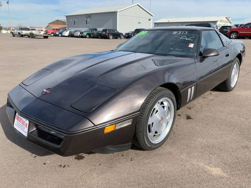 1989 Chevrolet Corvette for sale at De Anda Auto Sales in South Sioux City NE