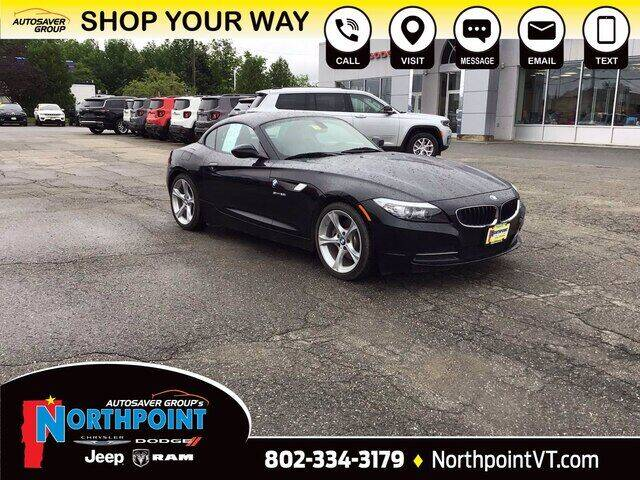 2012 BMW Z4 for sale in Newport, VT