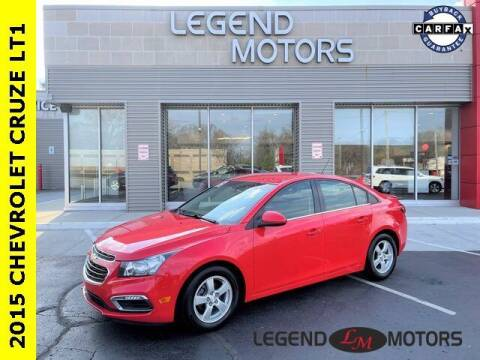 2015 Chevrolet Cruze for sale at Legend Motors of Waterford in Waterford MI
