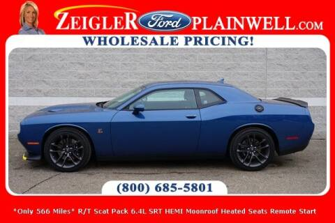 2020 Dodge Challenger for sale at Zeigler Ford of Plainwell- Jeff Bishop in Plainwell MI