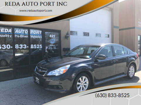 2012 Subaru Legacy for sale at REDA AUTO PORT INC in Villa Park IL