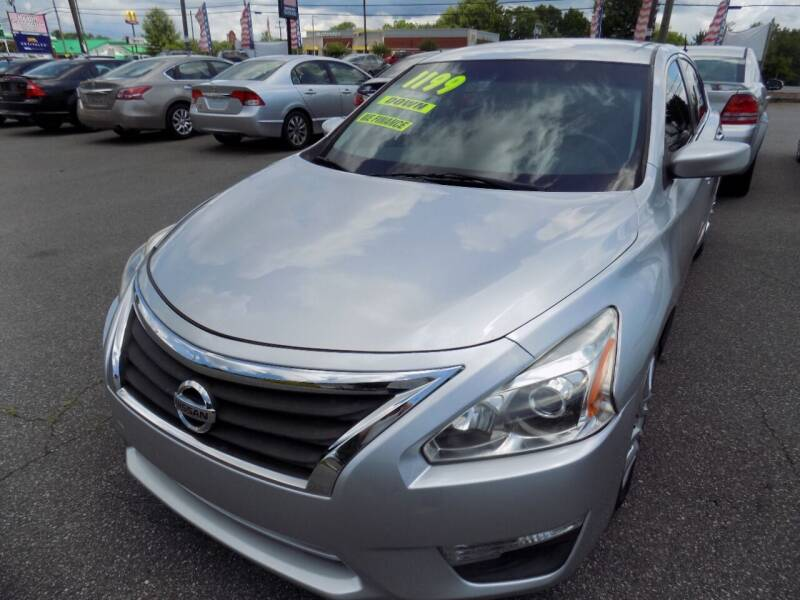 2013 Nissan Altima for sale at Pro-Motion Motor Co in Lincolnton NC