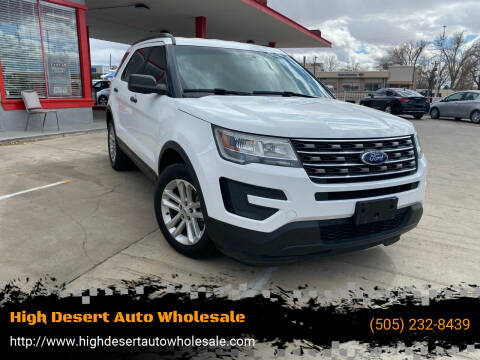 2016 Ford Explorer for sale at High Desert Auto Wholesale in Albuquerque NM