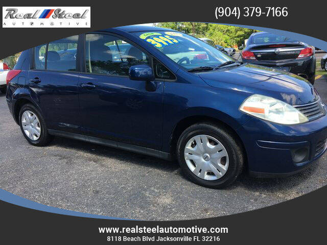 2008 Nissan Versa for sale at Real Steel Automotive in Jacksonville FL