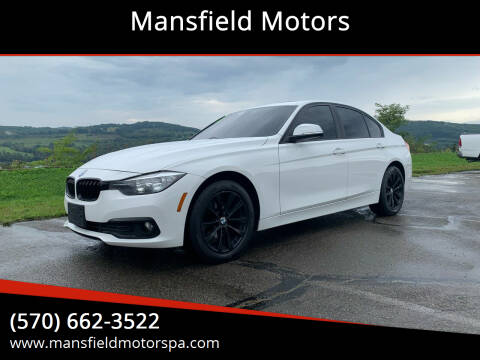 2017 BMW 3 Series for sale at Mansfield Motors in Mansfield PA