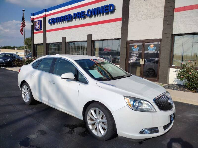 2016 Buick Verano for sale at Ultimate Auto Deals DBA Hernandez Auto Connection in Fort Wayne IN