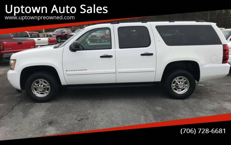 2007 Chevrolet Suburban for sale at Uptown Auto Sales in Rome GA