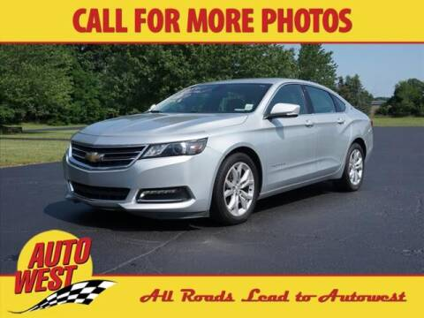 2019 Chevrolet Impala for sale at Autowest of Plainwell in Plainwell MI