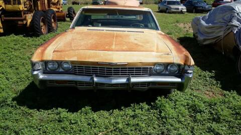 1968 Chevrolet Caprice for sale at CLASSIC MOTOR SPORTS in Winters TX