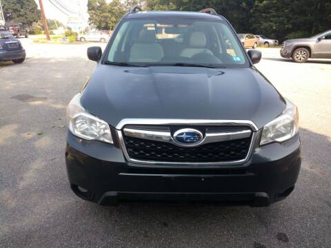 2014 Subaru Forester for sale at Auto Brokers of Milford in Milford NH