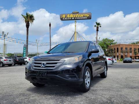 2014 Honda CR-V for sale at A MOTORS SALES AND FINANCE - 10110 West Loop 1604 N in San Antonio TX