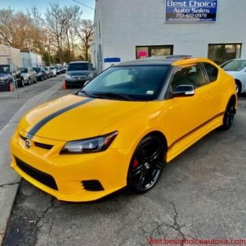 2012 Scion tC for sale at Best Choice Auto Sales in Virginia Beach VA