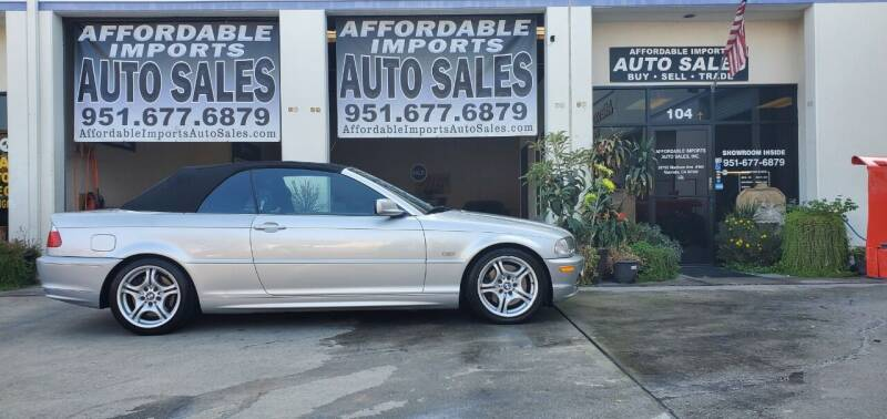 2002 BMW 3 Series for sale at Affordable Imports Auto Sales in Murrieta CA
