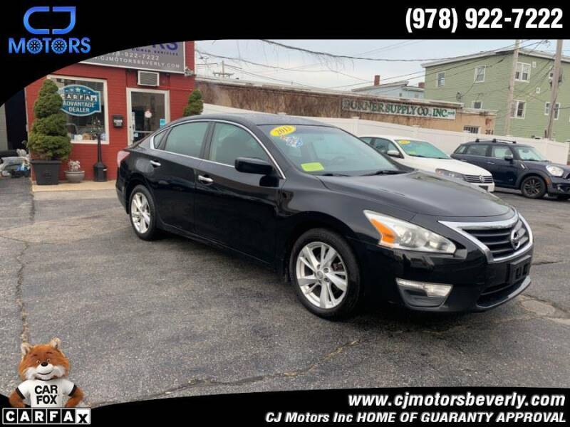 2013 Nissan Altima for sale at CJ Motors Inc. in Beverly MA