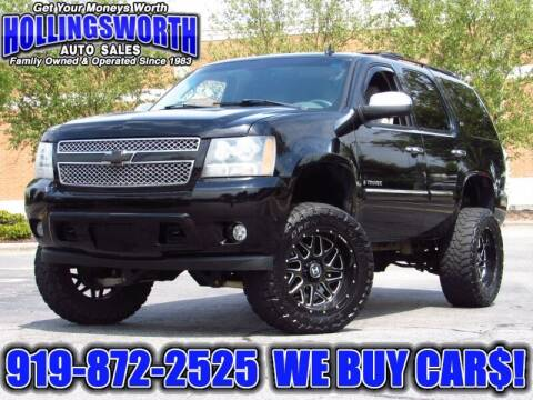 2007 Chevrolet Tahoe for sale at Hollingsworth Auto Sales in Raleigh NC