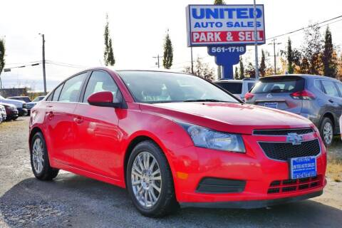 2014 Chevrolet Cruze for sale at United Auto Sales in Anchorage AK