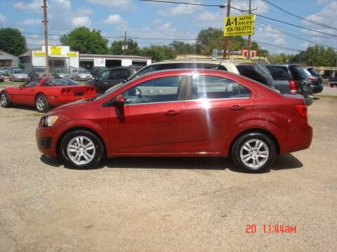2012 Chevrolet Sonic for sale at A-1 Auto Sales in Conroe TX
