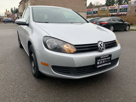 2010 Volkswagen Golf for sale at CAR MASTER PROS AUTO SALES in Lynnwood WA