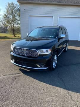 2019 Dodge Durango for sale at Interstate Fleet Inc. Auto Sales in Colmar PA