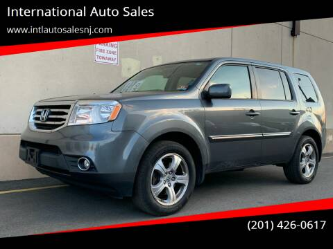 2013 Honda Pilot for sale at International Auto Sales in Hasbrouck Heights NJ