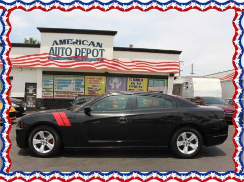 2012 Dodge Charger for sale at American Auto Depot in Modesto CA