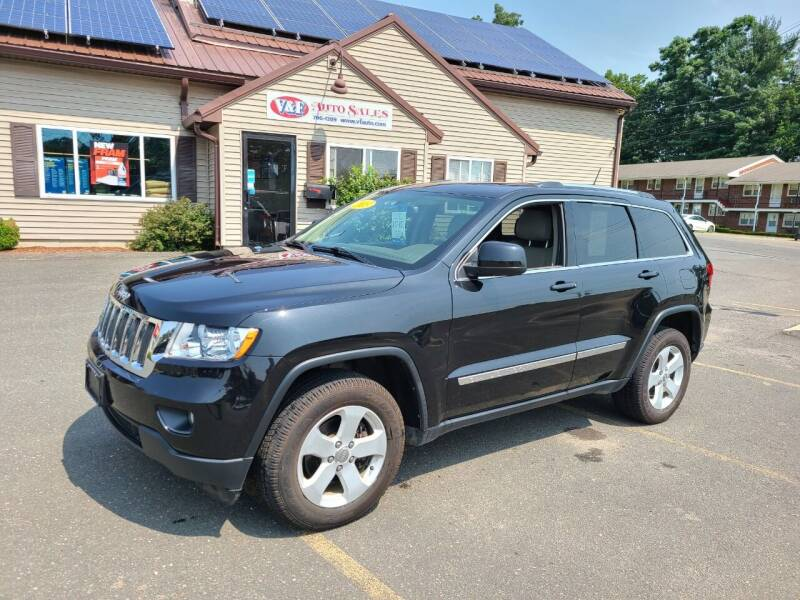 2013 Jeep Grand Cherokee for sale at V & F Auto Sales in Agawam MA