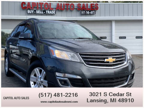 2013 Chevrolet Traverse for sale at Capitol Auto Sales in Lansing MI