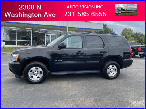 2012 Chevrolet Tahoe for sale at Auto Vision Inc. in Brownsville TN