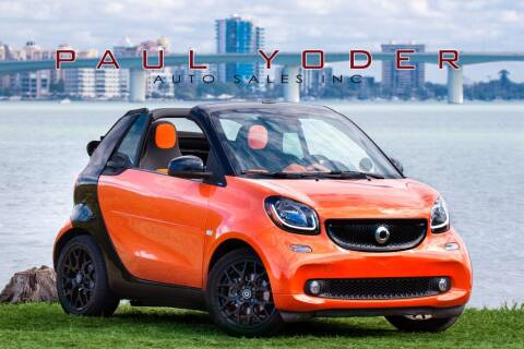 2017 Smart fortwo for sale at PAUL YODER AUTO SALES INC in Sarasota FL
