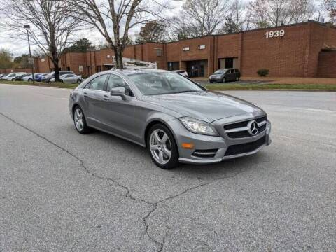 2013 Mercedes-Benz CLS for sale at United Luxury Motors in Stone Mountain GA