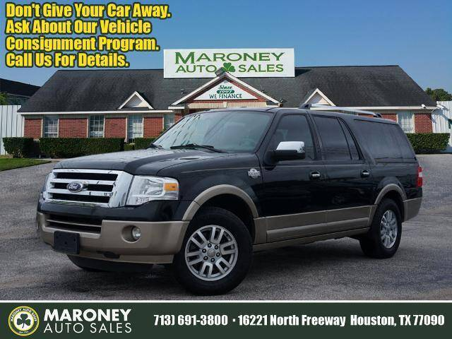2014 Ford Expedition EL for sale at Maroney Auto Sales in Humble TX