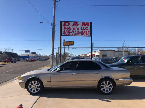 2004 Jaguar XJ-Series for sale at D & M Vehicle LLC in Oklahoma City OK