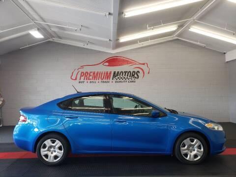 2016 Dodge Dart for sale at Premium Motors in Villa Park IL