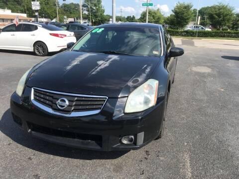 2008 Nissan Maxima for sale at Dad's Auto Sales in Newport News VA