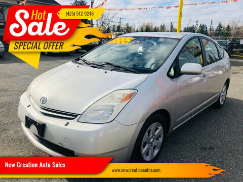 2005 Toyota Prius for sale at New Creation Auto Sales in Everett WA