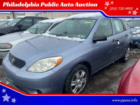 2007 Toyota Matrix for sale at Philadelphia Public Auto Auction in Philadelphia PA