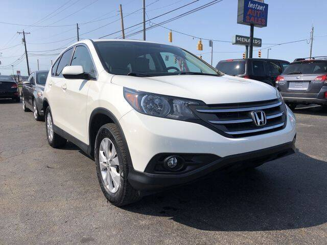 2012 Honda CR-V for sale at Instant Auto Sales in Chillicothe OH