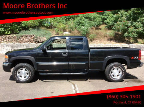 2004 GMC Sierra 1500 for sale at Moore Brothers Inc in Portland CT