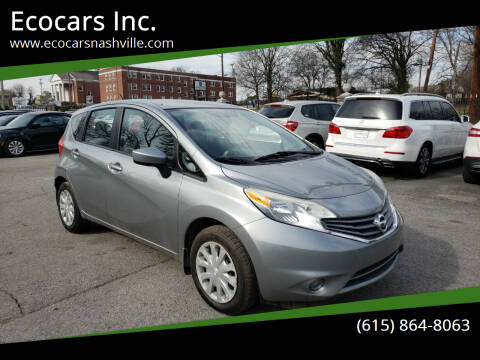 2015 Nissan Versa Note for sale at Ecocars Inc. in Nashville TN
