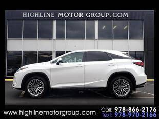2020 Lexus RX 350 for sale at Highline Group Motorsports in Lowell MA