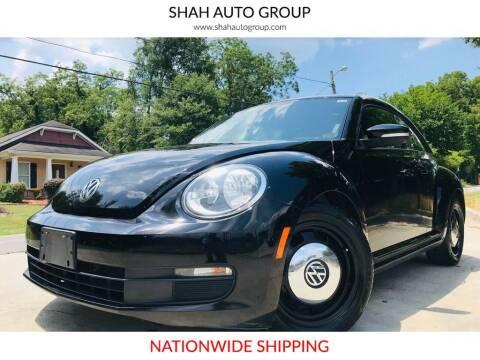 2012 Volkswagen Beetle for sale at E-Z Auto Finance - E-Biz Auto in Marietta GA