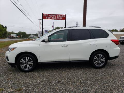 2019 Nissan Pathfinder for sale at 220 Auto Sales in Rocky Mount VA