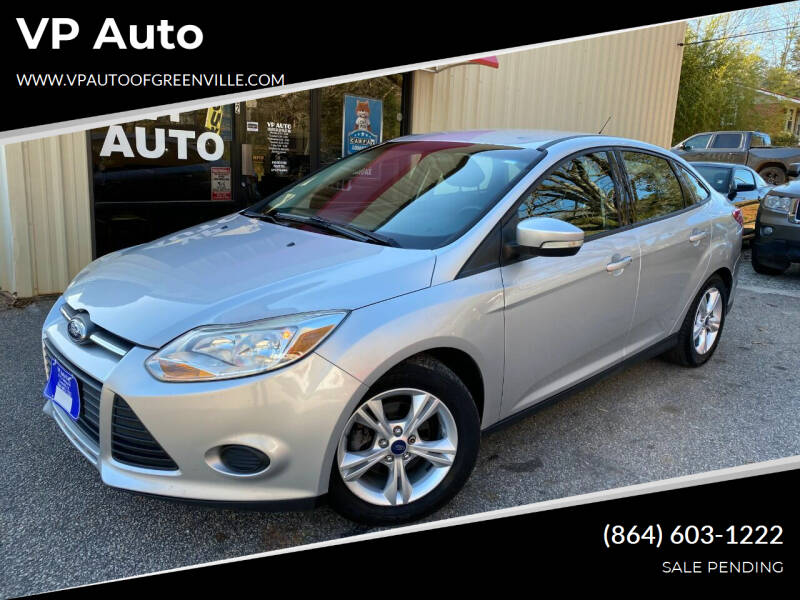 2013 Ford Focus for sale at VP Auto in Greenville SC
