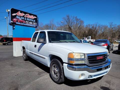2004 GMC Sierra 1500 for sale at Auto Outlet Sales and Rentals in Norfolk VA