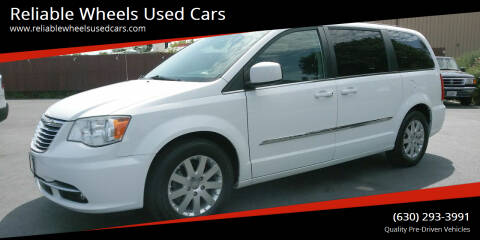 2014 Chrysler Town and Country for sale at Reliable Wheels Used Cars in West Chicago IL