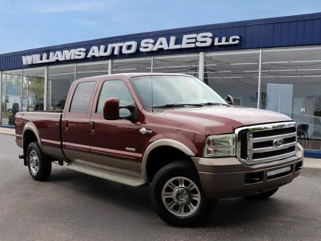 2006 Ford F-350 Super Duty for sale at Williams Auto Sales, LLC in Cookeville TN
