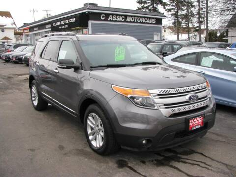 2014 Ford Explorer for sale at CLASSIC MOTOR CARS in West Allis WI