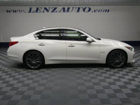 2016 Infiniti Q50 for sale at LENZ TRUCK CENTER in Fond Du Lac WI