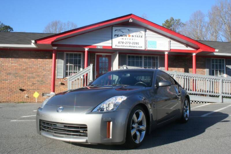 2008 Nissan 350Z for sale at Peach State Motors Inc in Acworth GA