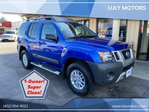 2015 Nissan Xterra for sale at Luly Motors in Lincoln NE